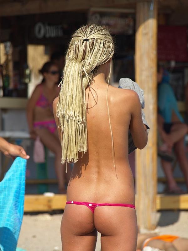 Pussy on Beach - Busty Beach Teens