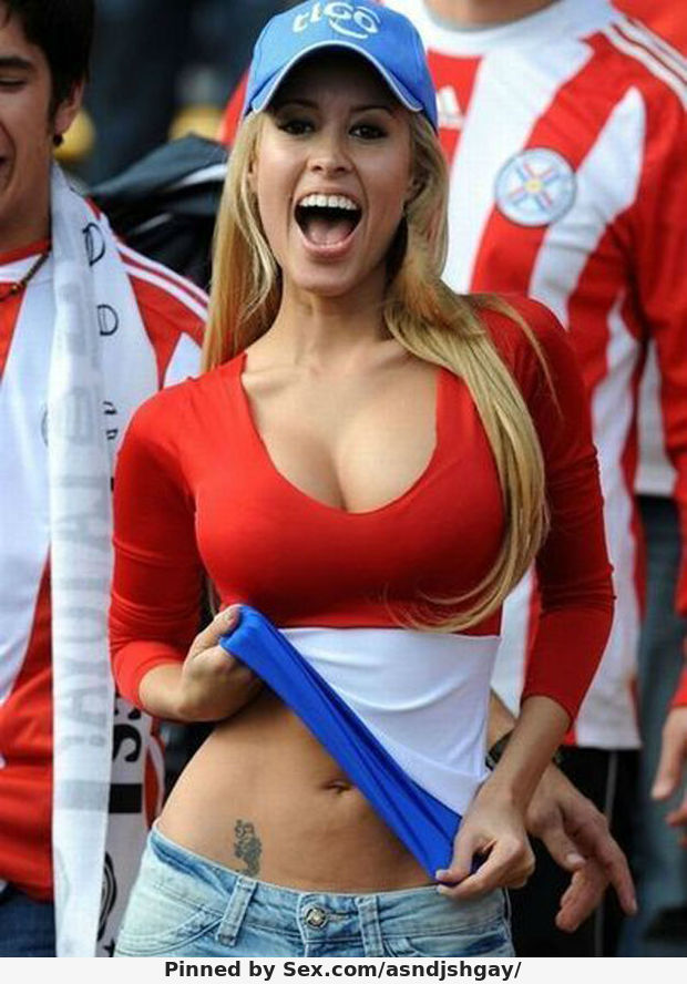 Hot Paraguay Teen Paraguayan Female Fans In-World-Cup