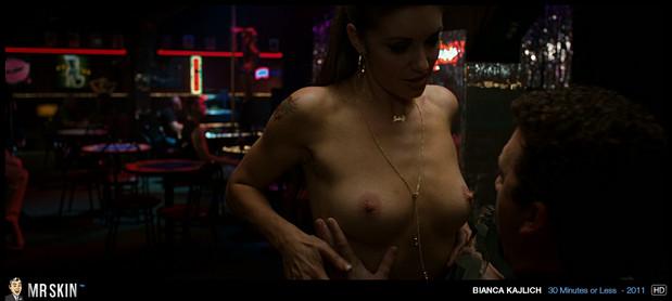 Bianca Kajlich lap-dance