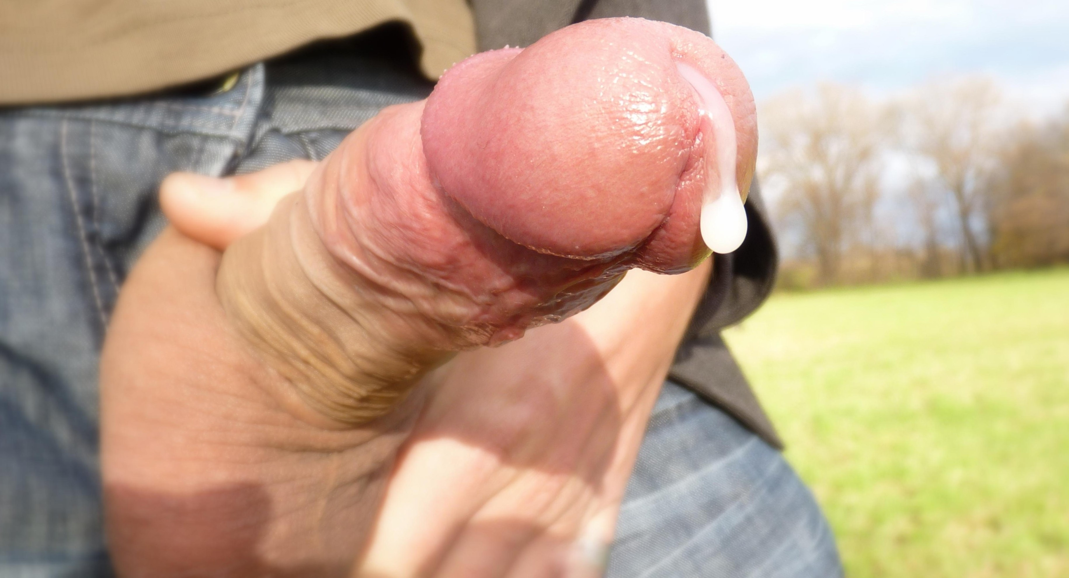 dripping cum