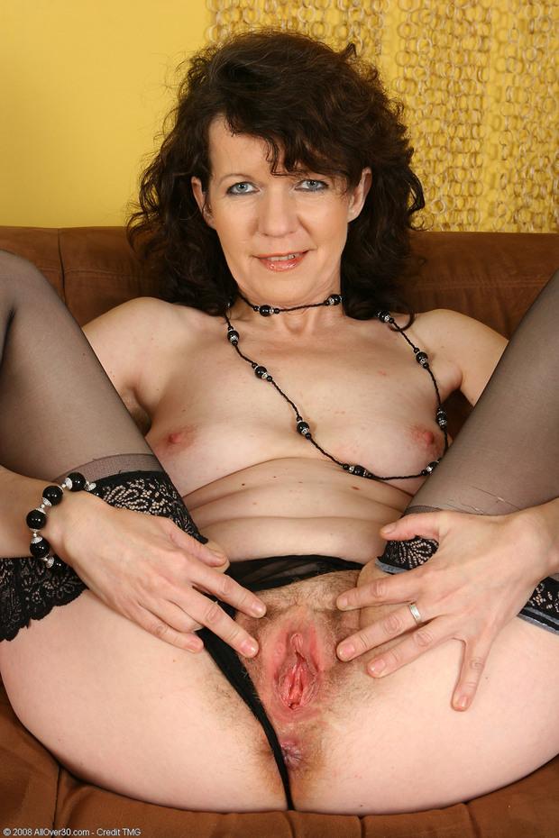 Hot, horny, hairy and all holes ready