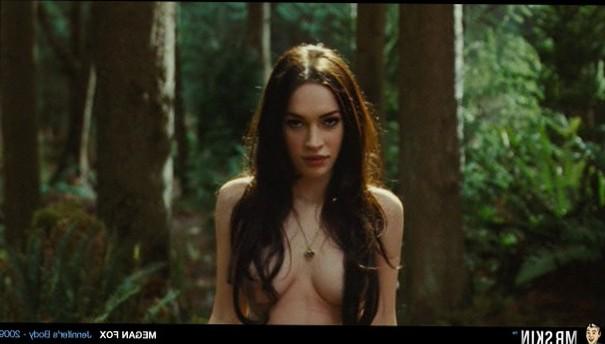 Megan Fox is topless