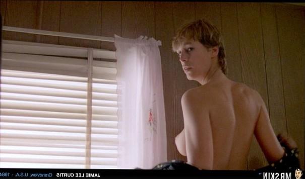Jamie Lee Curtis side-boob