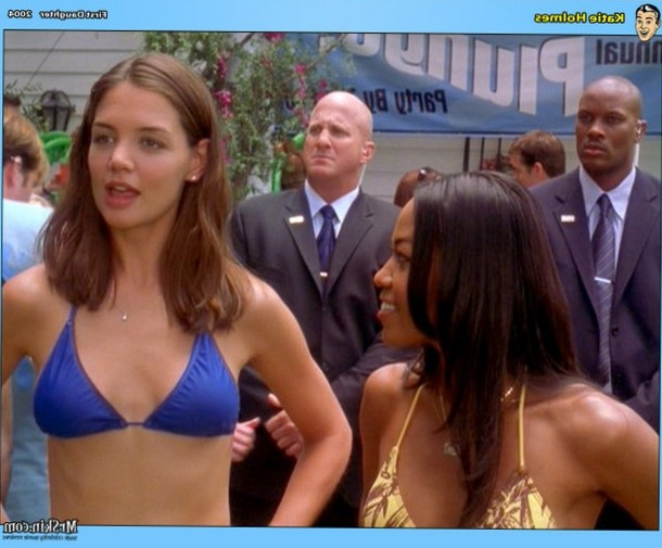 Katie Holmes in a bikini