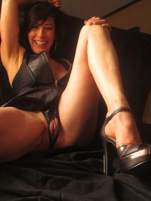 Femme mature nue en photo sexe