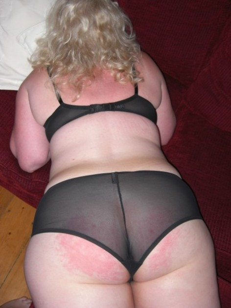 big sexy bum in sexy panties needs fucking and spanking