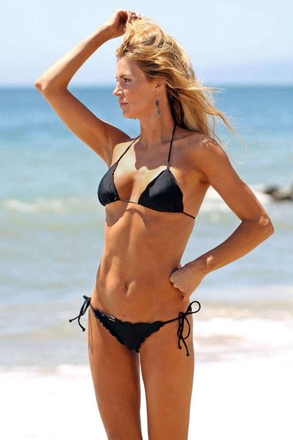 Brandi Glanville Black Bikini 4