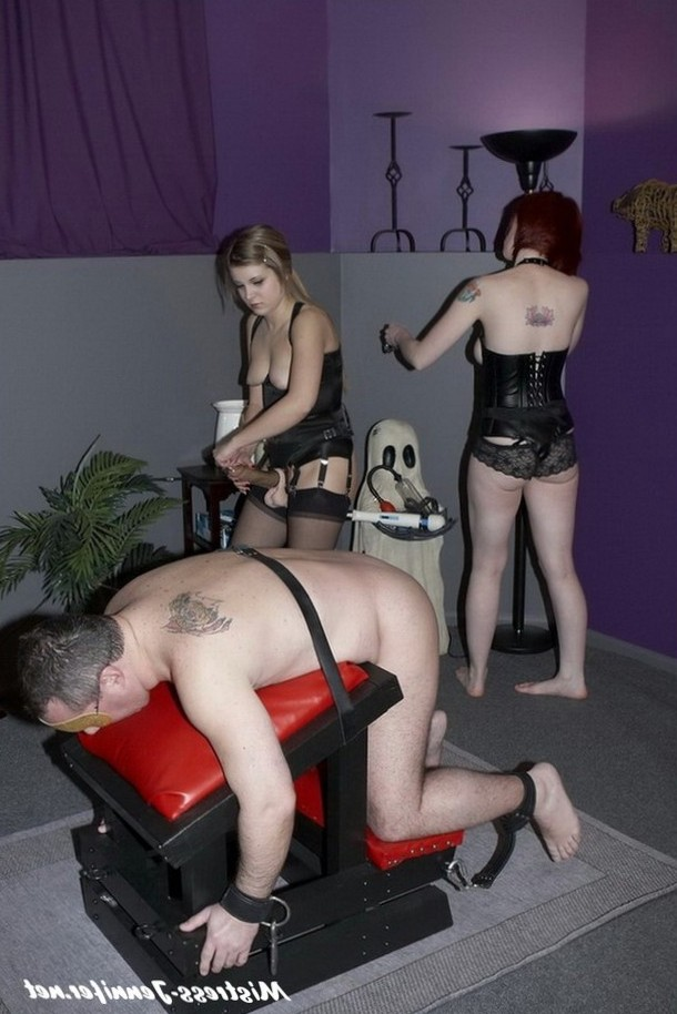 Time to fuck your ass. Femdom male submission at its finest.