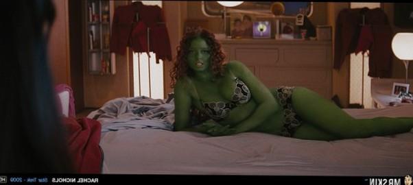 Rachel Nichols Star Trek alien babe