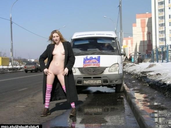Public Nude- Naughty Outdoor Girls