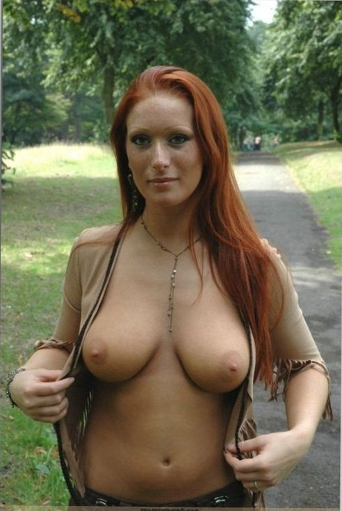 Sweet RED.....Natural Breasts